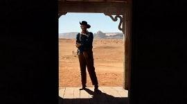 Un plano que es puro western