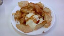 Las patatas del Tomás antes...