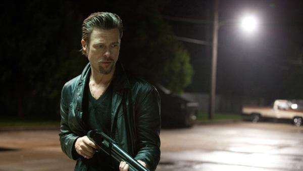 Brad Pitt en una escena de la película