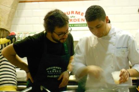 aprendiendo de todo un chef