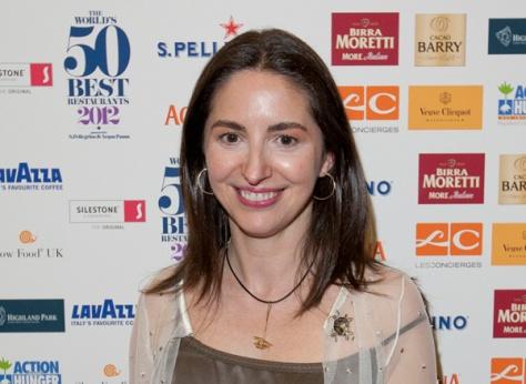Elena Arzak, en la pasada edición. Foto: onEdition para 'World's 50 Best Restaurants 2012', patrocinado por S.Pellegrino & Acqua Panna