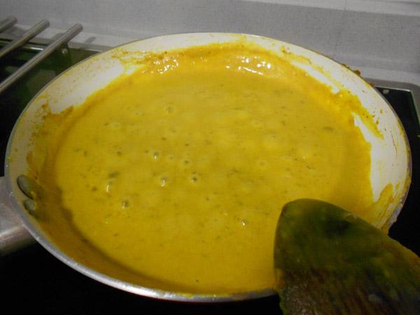 Ligando el curry