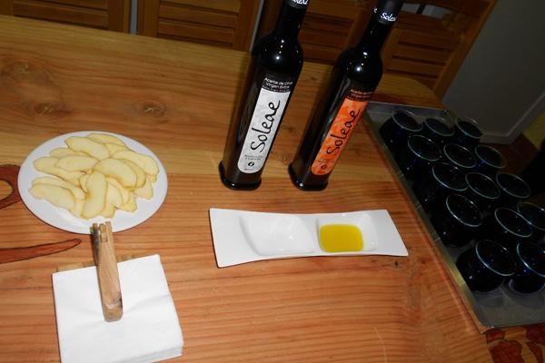 Cata de aceite en Soleae