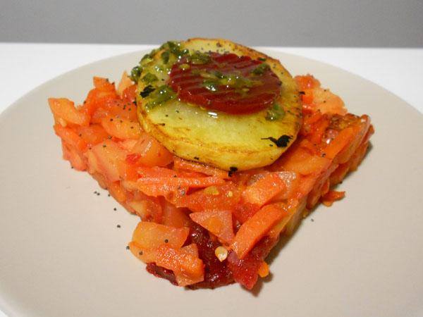 Remolachachachá de verduras