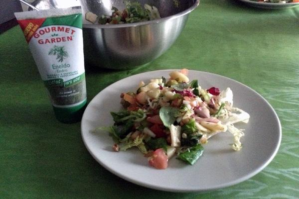 ensalada fresca para el verano