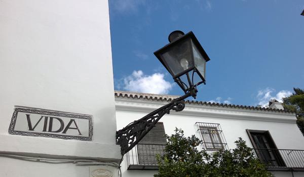 Imagen de una calle de Sevilla