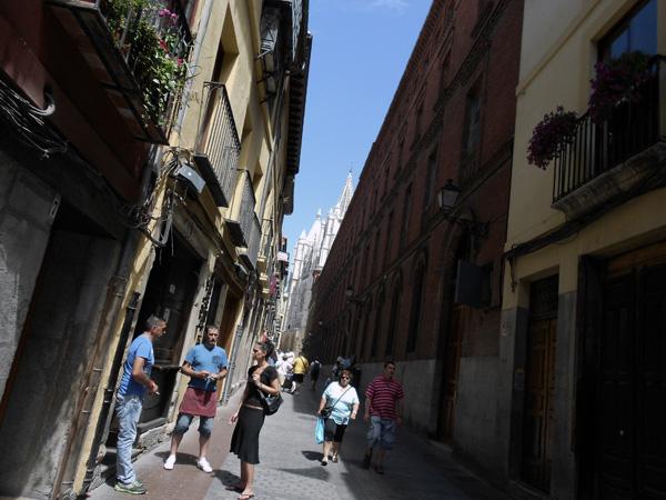 Calle Mariano Domínguez Berrueta