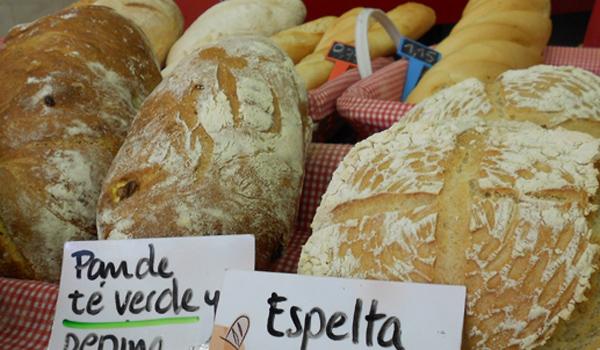 panes ecológicos en la casita de pan