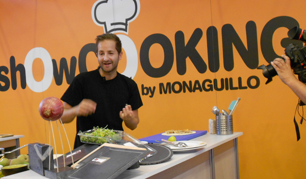 showcooking de David Monaguillo en Agromaq13