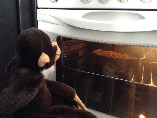 la larga espera ante el horno