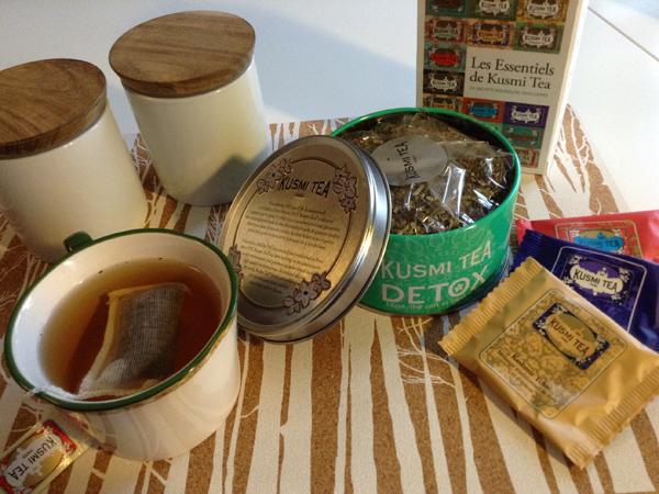 distintas variedades de Kusmi Tea