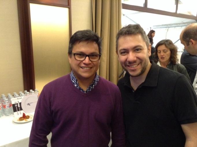 Alberto Marcos y Luis Arévalo en ShowFood 2013