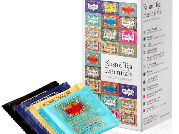 Las esencias de KUSMI TEA