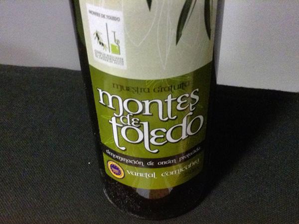 aceite de oliva DOP Montes de Toledo