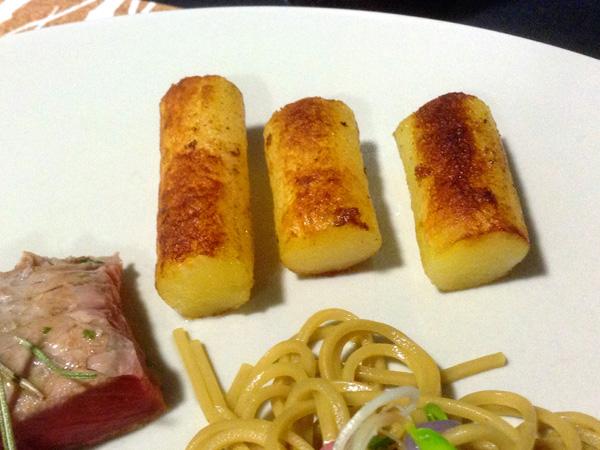 patatas cocidas y fritas