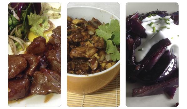 3 platos con influencia de la cocina oriental