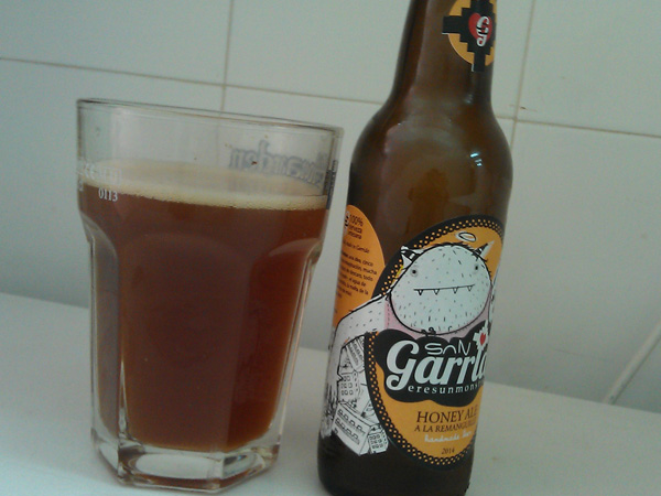 sangarrido honey ale