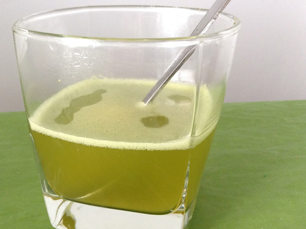té verde matcha japonés