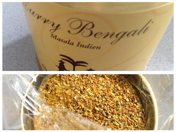Curry bengalí