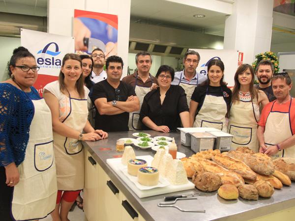 Taller de cocina para blogueros en Zamora