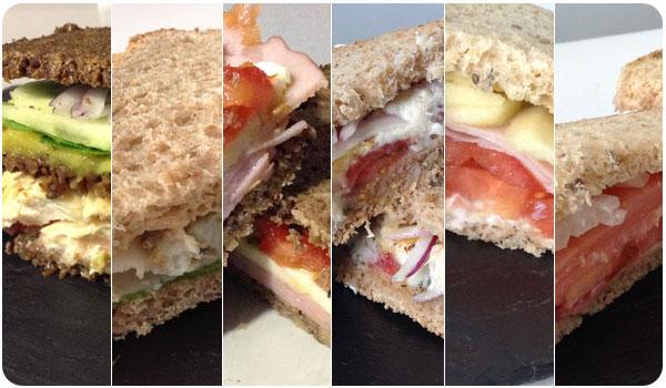 6 sándwiches para preparar en 5 minutos (y comer en 3)