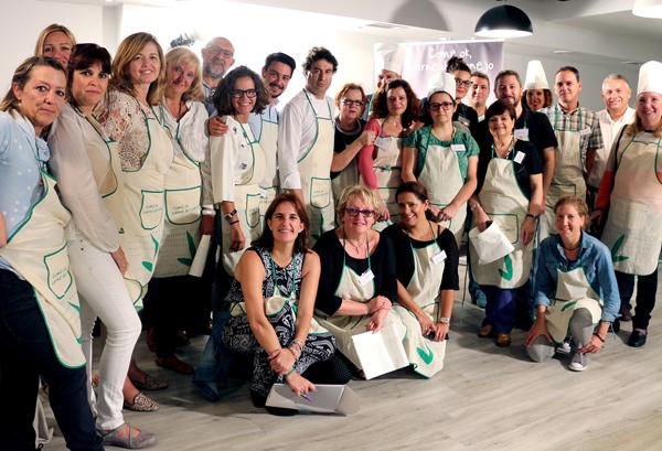 Foto de los blogueros asistentes al encuentro