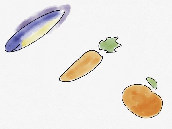 De la anguila a la naranja pasando por la zanahoria