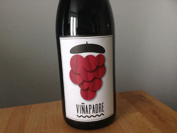 Botella de ViñaPadre