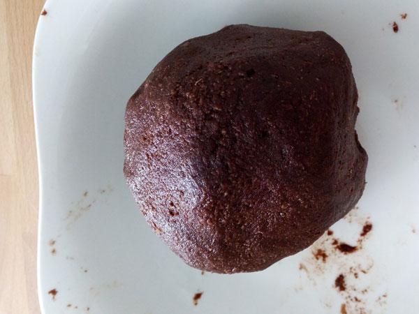 Bolaza de chocolate