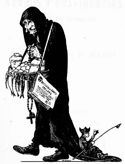 """Llegada de la Cuaresma"". Manuel Moliné, 1906."