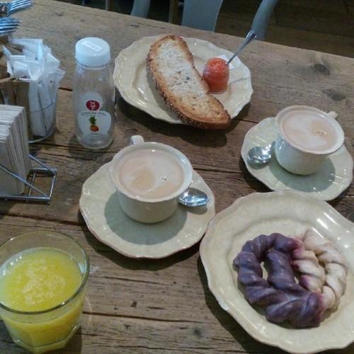 desayuno en Mamá Framboise